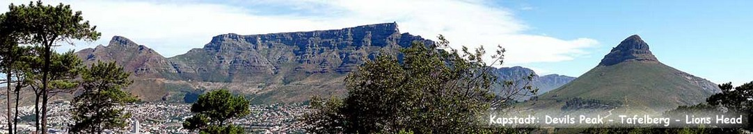 Devil´s Peak - Tafelberg - Lions Head